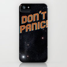 Don't Panic iPhone (5, 5s) Slim Case