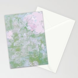 Flowers in the Garden or Clouds in the Sky Stationery Cards