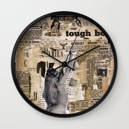 Tough Boys Wall Clock