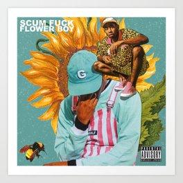 The Creator - Flower Boy Art Print