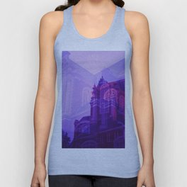 Amsterdam at Night No.5 Unisex Tank Top