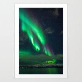 Emerald Skies VII Art Print