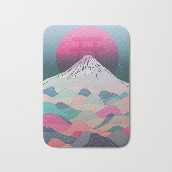 Dreaming of Japan Bath Mat