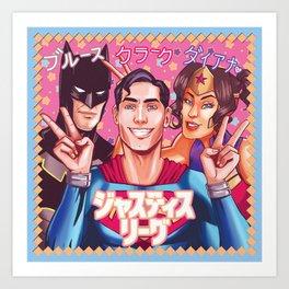 ジャスティス・リーグ - Justice League Art Print