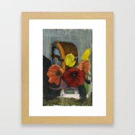 Faded Memories Framed Art Print