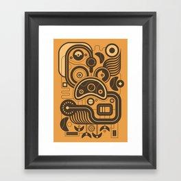 Nonsensical Doodle #3 Framed Art Print