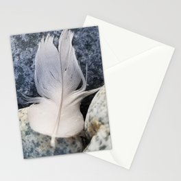 Feather & Stone Stationery Cards