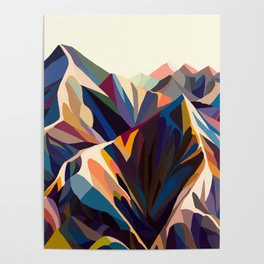 Mountains original Poster