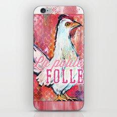 La Poule Folle (The Mad Hen) iPhone & iPod Skin