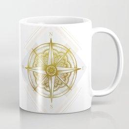 Golden Compass Coffee Mug