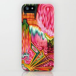 Sunk into a Candy Cave iPhone Case