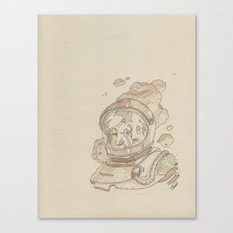 Astronaut in Motion Canvas Print