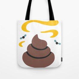 Poop Flies Tote Bag