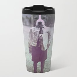Beagle Boy Metal Travel Mug