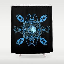 Bahamut fayth Shower Curtain