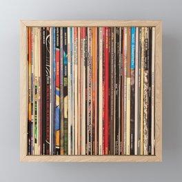 Blue Note Jazz Vinyl Records Framed Mini Art Print