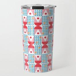 Kaiser Modern Geometric Pattern Travel Mug