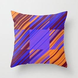 sliced geometry 05 Throw Pillow