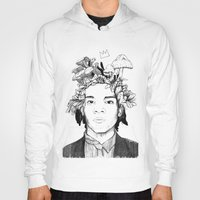 basquiat Hoodies featuring Basquiat by offthefaceoftheearth