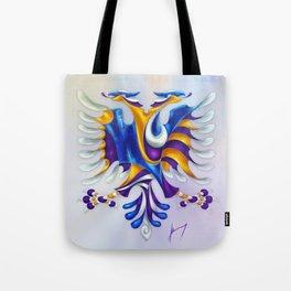 Kosovar (Albanian) Eagle Tote Bag