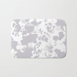 Grey - pattern painting gray and white minimal modern art large stretched canvas minimal decor Bath Mat