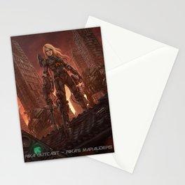 Rika Outcast Stationery Cards