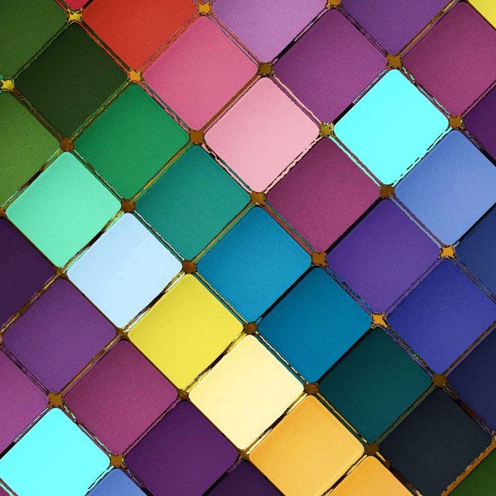 Colored Blocks Leggings
