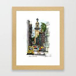 Central Havana Framed Art Print