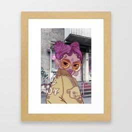 FUROR Framed Art Print