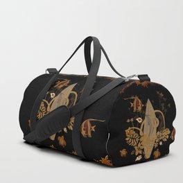Hawaiian, tropical design Duffle Bag