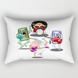Retro Band Rectangular Pillow