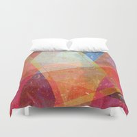 prism Duvet Covers featuring Prism by Zeke Tucker