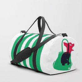 Angry animals: chihuahua - little green bag Duffle Bag