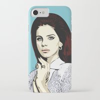 lana iPhone & iPod Cases featuring LANA by DVNJCK