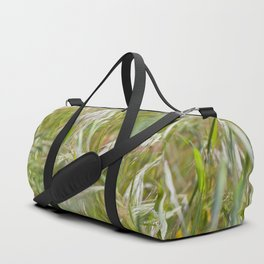 Green Barley, Textures44 Duffle Bag