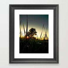 Slice of the Sky Framed Art Print