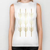 stay gold Biker Tanks featuring stay gold by Reckless Crush