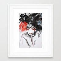 vendetta Framed Art Prints featuring Vendetta by Valeri Prokopenko