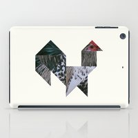 rooster iPad Cases featuring ROOSTER by TANGRAMMAR