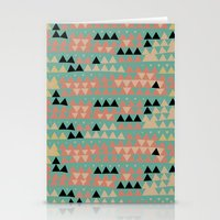 triangles Stationery Cards featuring triangles by spinL