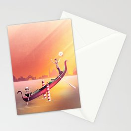 Venice Seesaw Stationery Cards