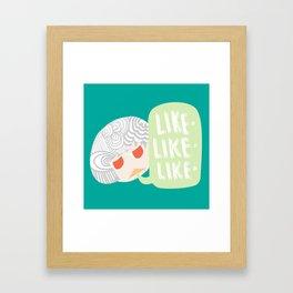 Verbal Tix Framed Art Print