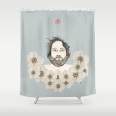 Waiting for spring ... Shower Curtain
