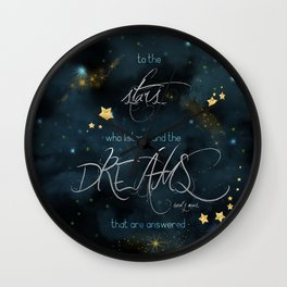 To the stars who listen... Wall Clock