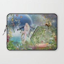 Butterfly Fairy Laptop Sleeve