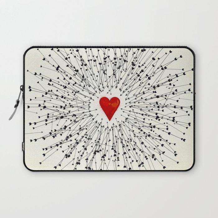 Heart&Arrows Laptop Sleeve