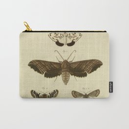 Vintage Moths Carry-All Pouch
