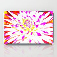 dahlia iPad Cases featuring Dahlia by Sofia Fogel