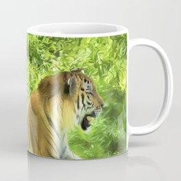 Tiger In Forest Coffee Mug
