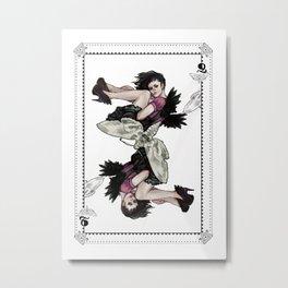 Queen of Wings Metal Print